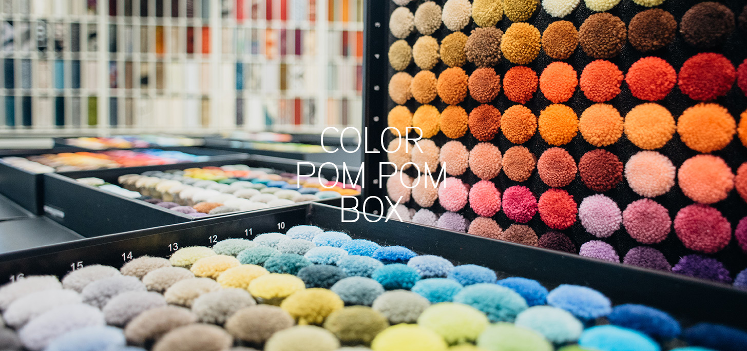 COLOR POM POM BOX